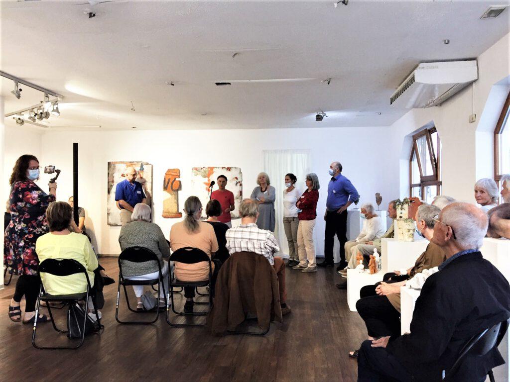 Eröffnung Ausstellung Künstlerhof
